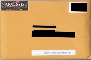 Narcissist Return Address